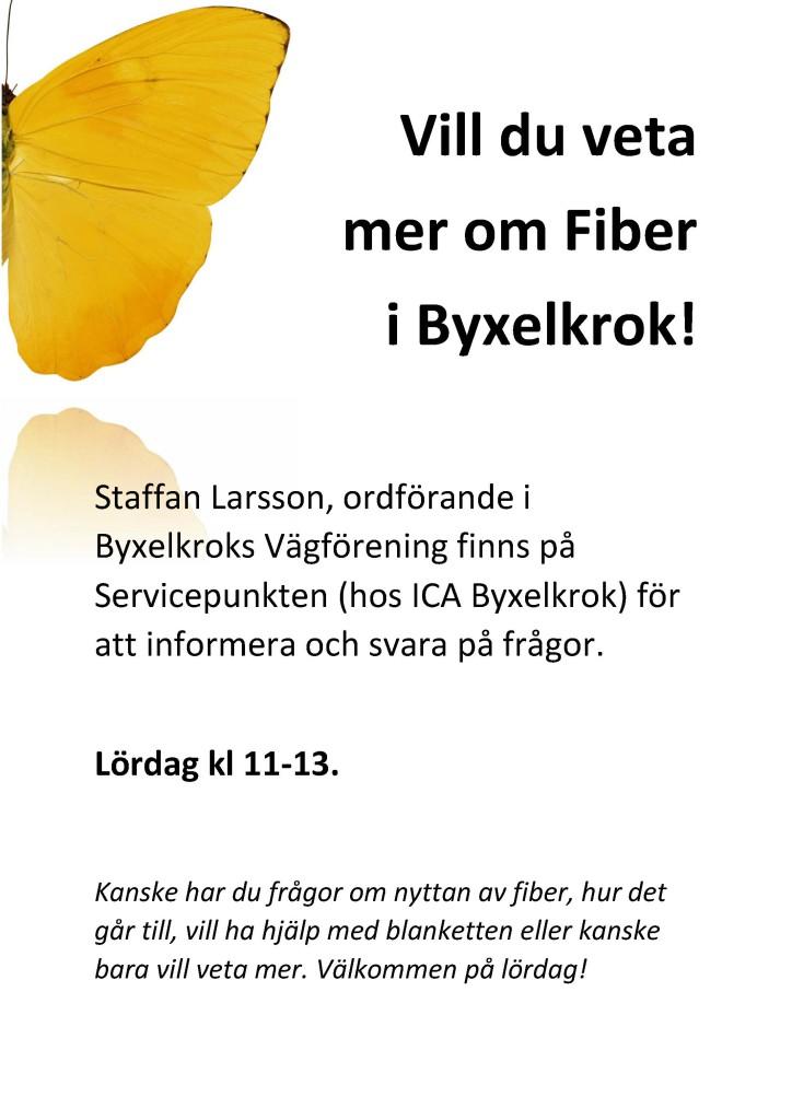 Vill du veta mer om Fiber i Byxelkrok icalapp
